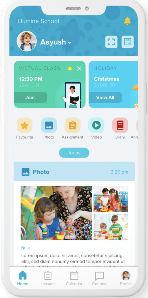 parent teacher communication app